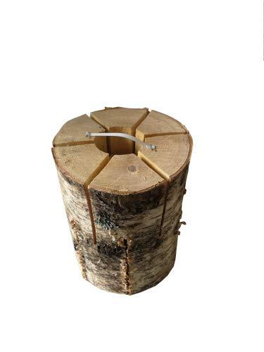 KM Firemaker Baumfackel Schwedenfeuer 20 cm Gewicht ca. 2 kg, Brenndauer ca. 1-2 Stunden