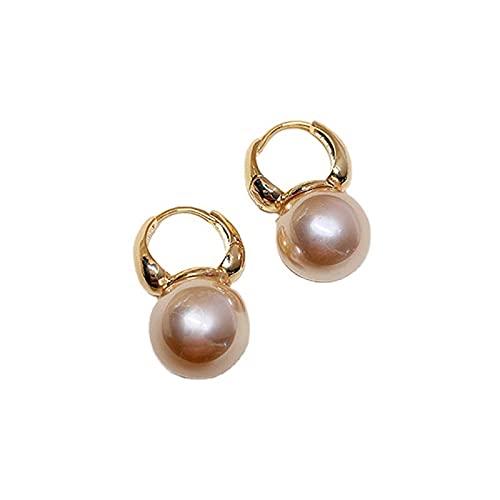1 pieza de pendientes de perlas vintage para mujer, pendientes elegantes y retro para niñas