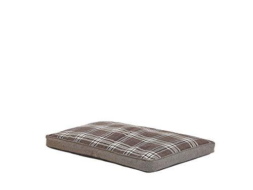 Cama rectangular para mascotas, cama para perro, cama para gato, suave cuna de animales marrón AMARAT
