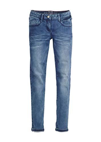 s.Oliver Junior Mädchen 76.899.71.3333 Hose, Blue Stretched den, 164 (Herstellergröße: 164/REG)