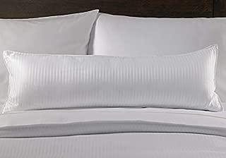 Westin Hotel Boudoir Pillow Cover - Silky Smooth Striped Decorative Pillow Cover for Boudoir Pillow - Queen/King (12