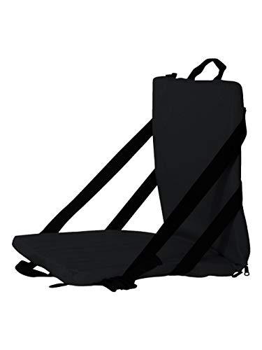 Liberty Bags Folding Stadium Seat (Black) (One)