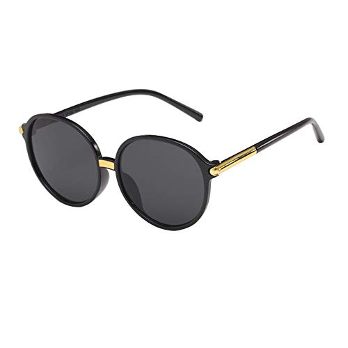 Sunglasses Anti Ultraviolet Round Face Retro Driving Eyes Sunglasses for Women