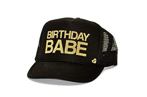 Mother Trucker & Co Birthday Babe Black- Gold