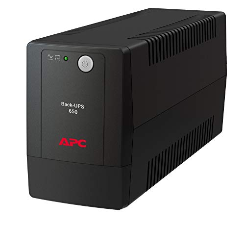 APC by Schneider Electric Back-UPS  BX650LI-GR  Gruppo di Continuità UPS, 650 VA, AVR, 2 x Uscite Schuko