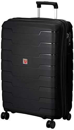 [ロンカート] スーツケース SKYLINE 保証付 80L 3.5kg ブラック