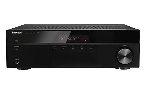 Sherwood RX4508 200W AM/FM Stereo Receiver with Bluetooth, Black