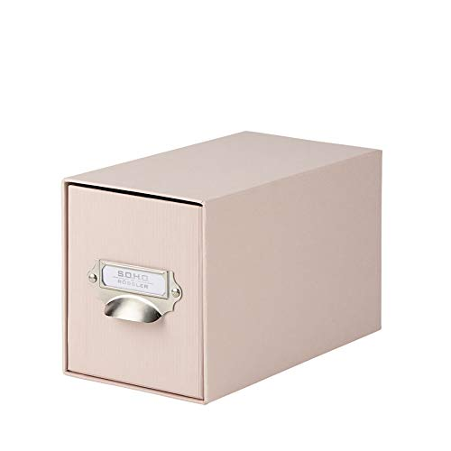 Rössler 1327452580 - S.O.H.O. CD-Schubladenbox, mit Griff, powder