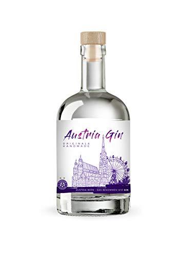 Austria Gin - Handmade Gin von Austria Wien (1 x 0,5l)