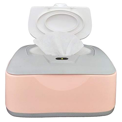 Baby Wet Wipes Warmer, Dispenser, Holder and Case - with...