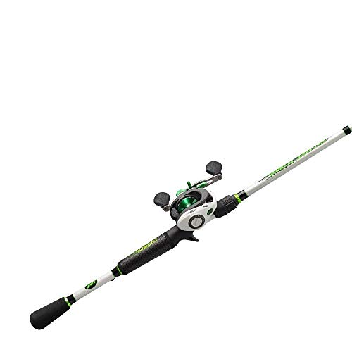 LEW'S FISHING Mach 1 Speed Spool SLP Combo, Left-Hand Retrieve, Baitcast Combo, Baitcasting Reel, Fishing Reel and Fishing Rod, Fishing Gear and Equipment, Fishing Accessories (MH1SHLA610MH)