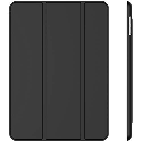JETech Hülle Kompatibel iPad (9,7 Zoll, Modell 2018/2017, 6. / 5. Generation), Intelligent Schutzhülle mit Auto Schlafen/Wachen, Schwarz
