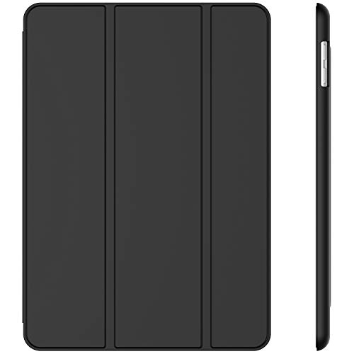 JETech Case for iPad (9.7-Inch, 2018/2017 Model, 6th/5th Generation), Smart Cover Auto Wake/Sleep, Black