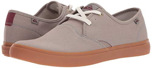 Quiksilver Men's Shorebreak Shoe Skate, Grey/Grey/red, 7 M US