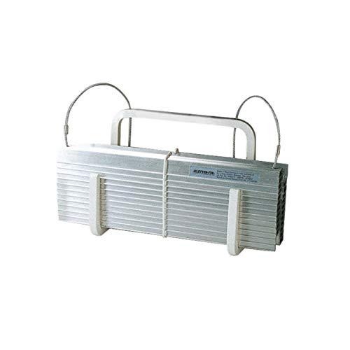 KF-Kompakt N8 - Escalera de emergencia (cable de acero con peldaños de aluminio, longitud 8 m, 3 pisos, peso: 4,5 kg)