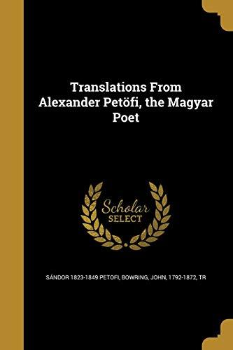 TRANSLATIONS FROM ALEXANDER PE
