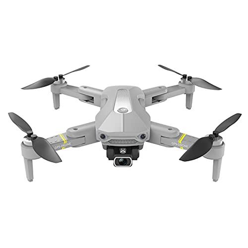 Sharplace K80 Pro Drone de Flujo óptico de posicionamiento RC Quadcopter con cámara 8K HD, Modo sin Cabeza, Drones FPV Plegables WiFi Video en Vivo 6 Ejes para - Grey