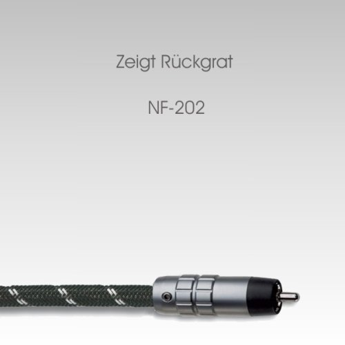 In-akustik NF-202 Referenz Stereo Cinchkabel Set 0,6 m