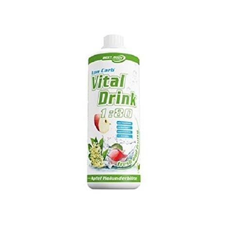 Best Body Nutrition - Low Carb Vital Drink - Kirsche (1000ml Flasche)