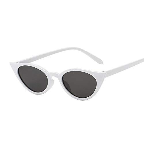 IRCATH Gafas de Sol con Montura pequeña de Ojo de Gato para Mujer adecuadas para Fiestas en la Playa, Senderismo, conducción, conducción-C8
