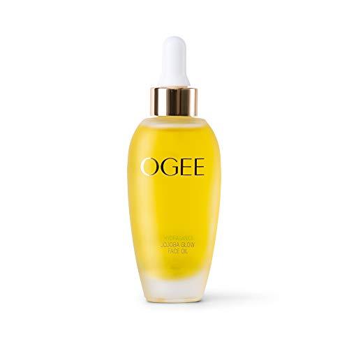 Ogee Jojoba Glow Face Oil – Organic & Natural, Moisturizing, Multi-Tasking Facial Treatment Oil (30ml)