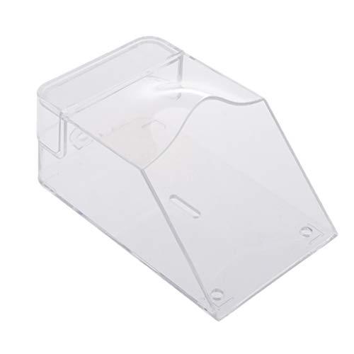 #N/A Cubierta De Plástico Para Timbre Protector De Campana De Puerta Inteligente Resistente Al Agua Transparente Universal
