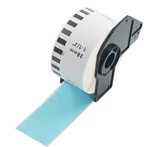 BETCKEY 互換の 長尺紙テープ 感熱紙 Brother用 ブラザー DK-2225 (38mmx30.48mm) 対応機種:感熱ラベルプリンター用 QL-800 QL-820NWB QL-700 QL-550 QL-720NW QL-650TD [1