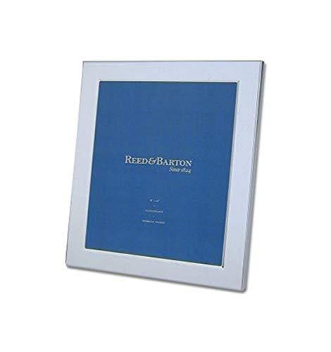 """Reed & Barton Classic Silverplate 8"""" x 10"""" Frame, 2.05 LB, Metallic"""