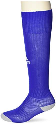 adidas Milano 16 Sock - Medias para hombre, multicolor (AZUL/ BLANCO), talla 40-42 EU, 1 par