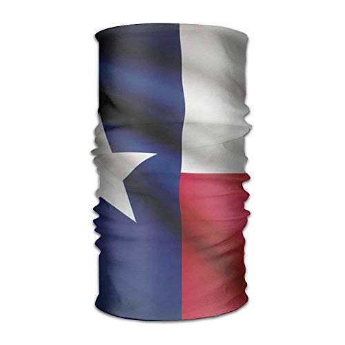 dfegyfr Pin Texas Flag Outdoor Scarf 12 Inches Headbands Bandana Mask Neck Gaiter Head Wrap Mask Sweatband New4
