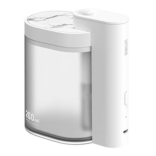MILISTEN Humidificador USB Mini Humidificador Difusor de Aire Humidificador Mudo para Oficina en Casa (Blanco)