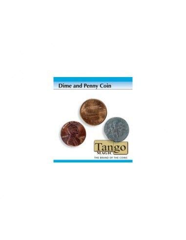 Dime and Penny trick (w/DVD)(D0048) by Tango - Trick