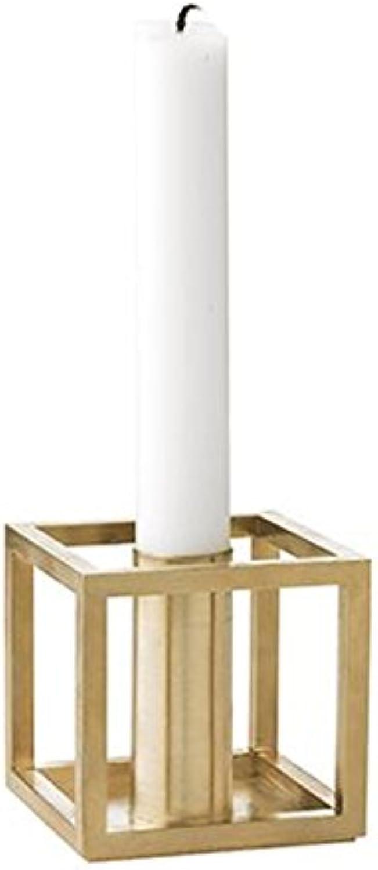 By Lassen - - - Kubus 1 Kerzenhalter - Messing - Mogens Lassen - Design - Kerzenhalter B01DW2217C 357aac