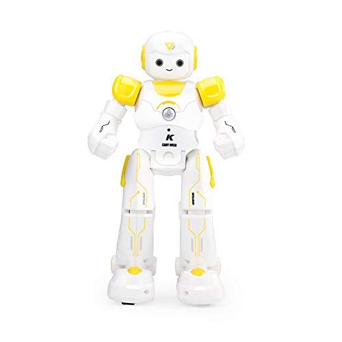 DBXMFZW Robot eléctrico RC Singing and Dancing Puzzle RC Robot Educación Earlizativa Interactiva RC Robot Juguetes para niños Regalos de cumpleaños de Navidad para niños y niñas de 3 a 6 años