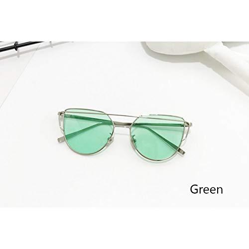 CJJCJJ Katzenauge Jungen Mädchen Kinder Sonnenbrille Ocean Lens Kinder Sonnenbrille UV400