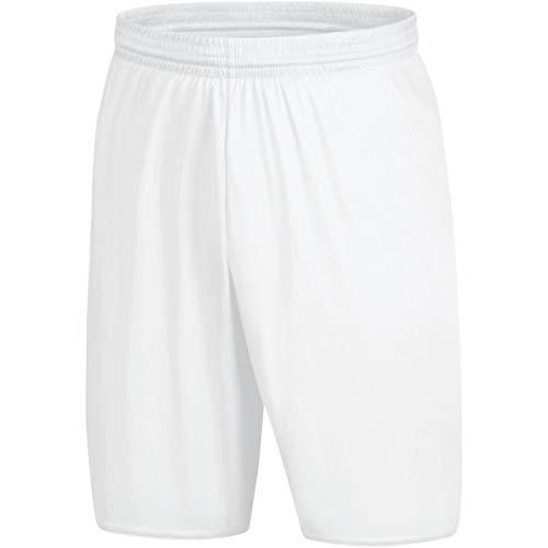 JAKO Herren Palermo 2.0 Sporthose, Weiß, L