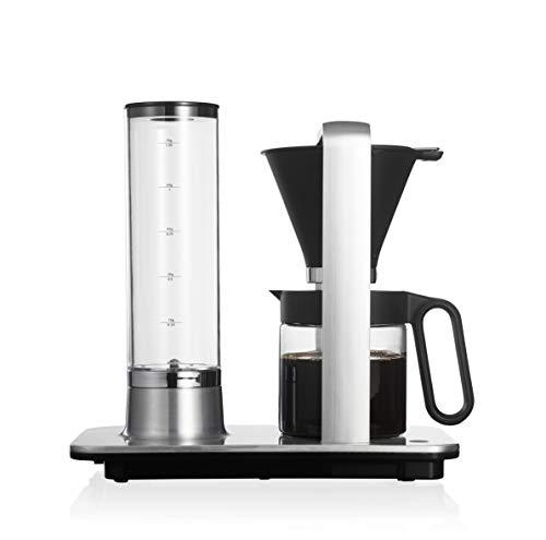 Wilfa SVART PRECISION Filterkaffeemaschine - manuelle Tropfstopp-Funktion, 1,25 l Füllmenge, 1840 Watt starke Leistung, aluminium