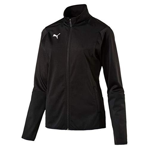 PUMA Erwachsene Liga Training Jacket W Jacke, Black White, S