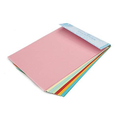 Papel hecho a mano de colores // A4 Thousand Paper Cranes Fun Origami Copy