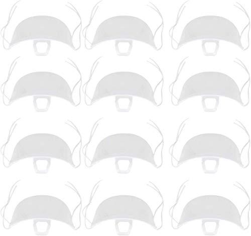 Preisvergleich Produktbild Tankaa 20 Stück transparente sanitäre Mundabdeckung für Restaurant Küche Wohnzimmer Smile Shield Abdeckung beide für Männer Frauen