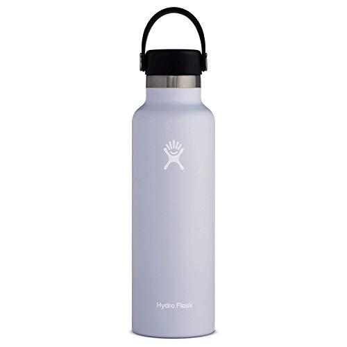 Hydro Flask Water Bottle - Standard Mouth Flex Lid - 24 oz, Fog