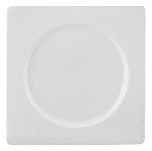 HOTELWARE Assiette, 23 cm, Porcelaine, Blanc