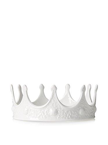SELETTI – My Couronne Souvenirs, Porcelaine, Blanc, 18,5 x 7,5 cm
