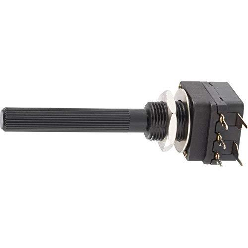 Piher PC16SH-10IP06474B2020IMTA Potenziometro rotativo con Interruttore Mono 0.1 W 470 kΩ 1 pz.