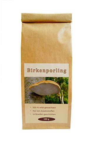 Chaga Birkenporlingtee | 100g Großpackung |wild gewachsen | geschnitten für die Teezubereitung | voll ausgereifte Fruchtkörper | Pilz | vegan | Tee | Naturprodukt |