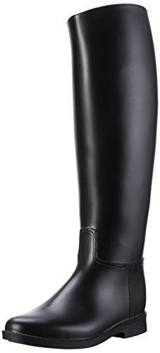 PFIFF 101658 PVC riding boots Glasgow, black UK 3.5 / EU 36