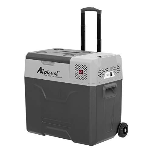 Alpicool CX Tragbare Kühlbox für Auto Camping Kühlschrank (CX50(LG), 50 Liter)