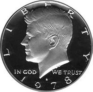1978 S Gem Proof Kennedy Half Dollar US Coin Half Dollar Uncirculated US Mint