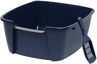 IRIS Jumbo Litter Box with Scoop, Navy