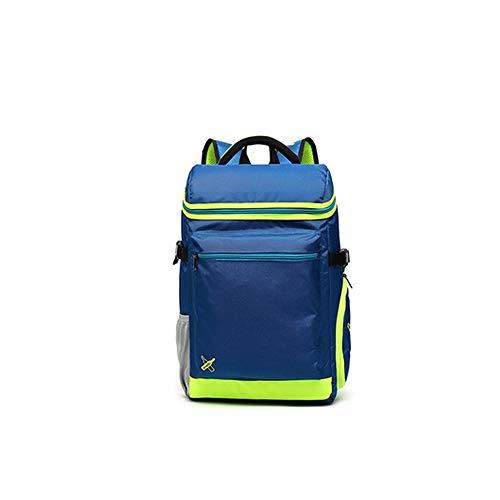 XIMINGJIA Badminton Racket Bag, Tennis Racket Bag, Shoulder Racket Bag, Sports Bag, Large Capacity, 3 Sticks Racket Bag, Waterproof and Dustproof. (Color : Sky Blue)